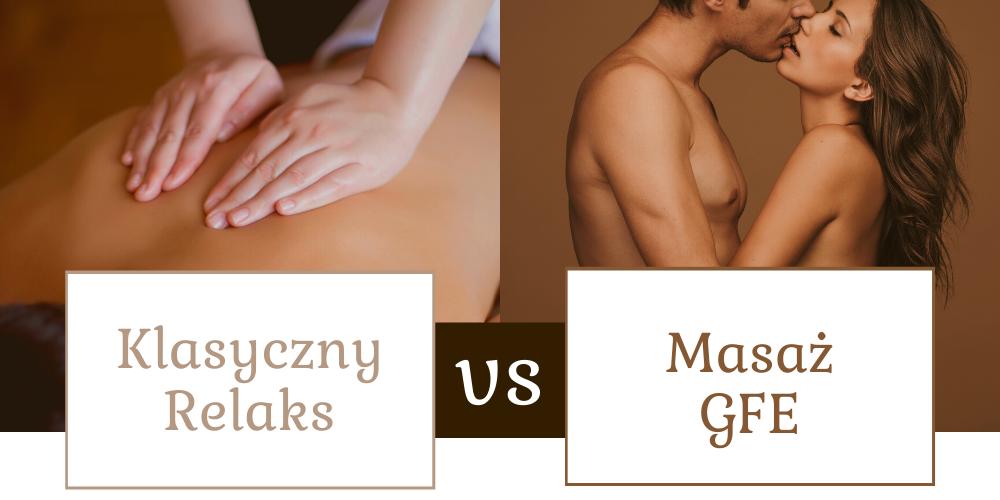 masaz erotyczny, masaz GFE roznice